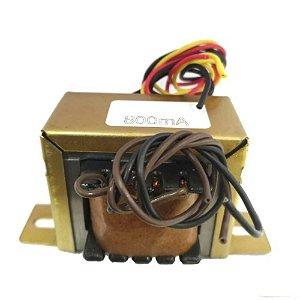 Transformador 0-12vac 800s(v)vertical