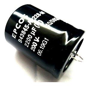 Capacitor Eletrol 2200mfx200v 35x45 Epc