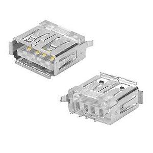 Conector Usb A-f Pci 180gr 4t+4mec Pioner Sc+c