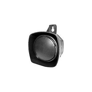 Sirene 12v Bitonal 60mm Preta C/1aba Fix