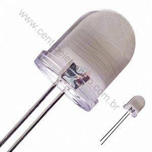 DIODO LED 10MM BRANCO CRIS 13000MCD 4,5V