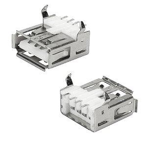 CONECTOR USB A-FEMEA PCI SMD 180GR