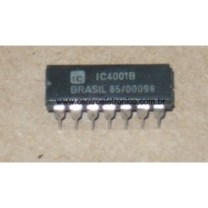 CIRCUITO INTEGRADO CD4001 DIP