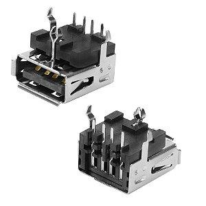 CONECTOR USB A-F PCI 90GR 4T