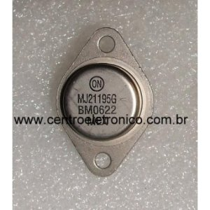 TRANSISTOR MJ21195 ON- PLASTICO(ON)TO3