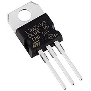 CIRCUITO INTEGRADO LM7805 +5V METAL