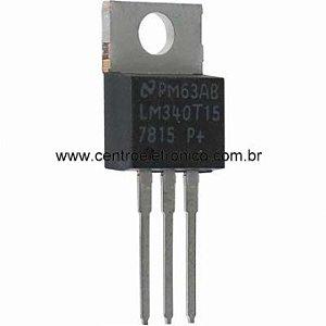 CIRCUITO INTEGRADO LM7815 +15V METAL