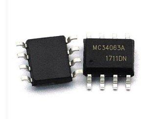 CIRCUITO INTEGRADO MC34063A SMD 4X3MM