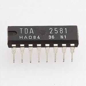 CIRCUITO INTEGRADO TDA2581 16P DIP
