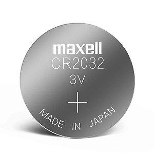 Bateria de Lithium 3V CR2032 Maxell
