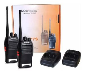 Rádio Analógico Baofeng TalkAbout 16 Milhas - BF777