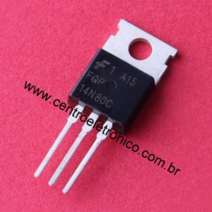 TRANSISTOR MTP14NA90 FET METAL TO220