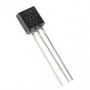 Transistor 2N2222A Plástico