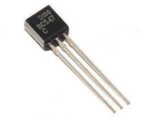 Transistor BC547 Plástico