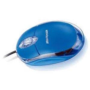 MOUSE USB OPTICO MULTILASER AZUL CLASSIC