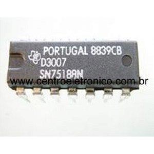 CIRCUITO INTEGRADO SN75188 DIP