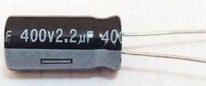 CAPACITOR ELETROLITICO 2,2MFX400V