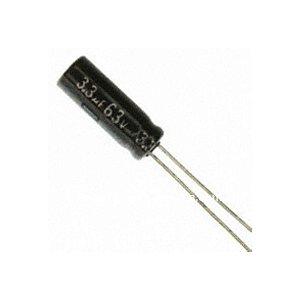 CAPACITOR ELETROLITICO 3,3MFX63V 5X11MM