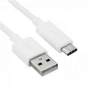 CABO USB PARA TIPO C 1 METRO BRANCO