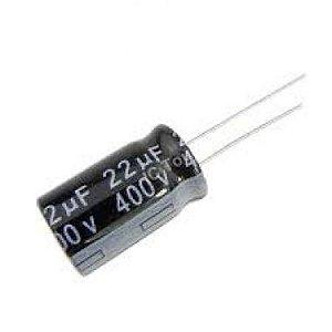 CAPACITOR ELETROL 22MFX400V 105GR 16X20