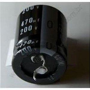 Capacitor Eletrol 470mfx200v 35x22 Epcos