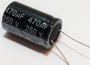 Capacitor Eletrol 470mfx250v 105g 25x50 Epc