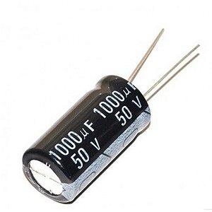 CAPACITOR ELETROL 1000MFX50V 13X26/105G