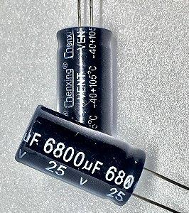 CAPACITOR ELETROL 6800MFX25V 18X40 EPC