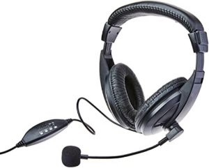 FONE HEADSET C/MIC USB PROF MULTILASER