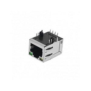 JACK RJ45 PAINEL 8P8 PCI 90GR C/METAL
