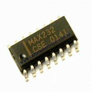 CIRCUITO INTEGRADO MAX232(SMD)16P 10X5MM