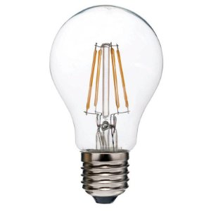 Lampada Biv Filamento Led 4w Bulbo E27 2400k Morna