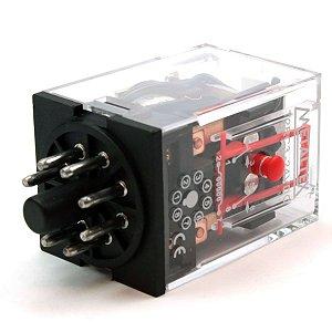 RELE 24VDC 10A 2CT REV CILINDICO MTX