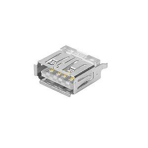 CONECTOR USB A-F PCI 180GR 4T+1MEC(CD)