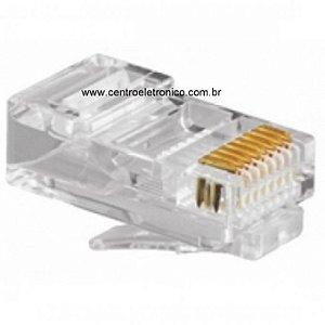 CONECTOR RJ45 CAT5 PLP 8VIAS(IMPORTADO)