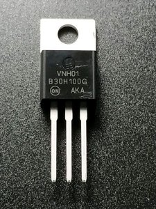 DIODO B30H100G SCHOTT MBRF3080 TO220(ENC