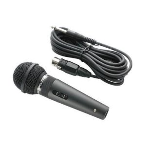Microfone Mao Uso-pro Metal Preto Fstm
