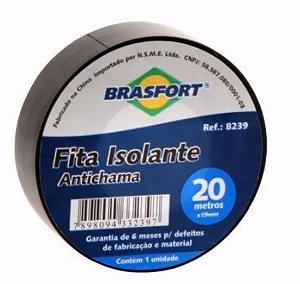 FITA ISOLANTE BRASFORT 20MT 19MM
