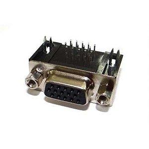 CONECTOR DB15 FEMEA 90GR P/PCI VGA