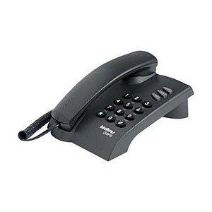 TELEFONE INTELBRAS PLENO GRAFITE C/CHAVE