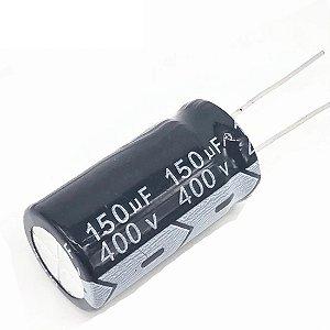 CAPACITOR ELETROLITICO 150MFX400V 22X35MM 105