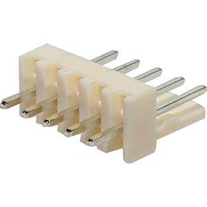 CONECTOR MACHO 5VIAS P/PCI 180GR 2,54MM