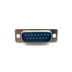 CONECTOR DB15 MACHO 2FILA SOLDA F1650+B