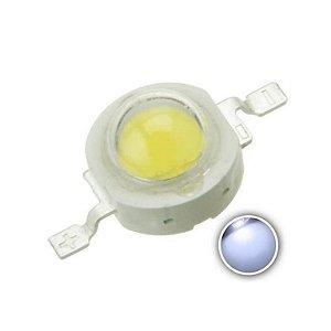 DIODO LED 3W BR-FRIO C/DISSIP