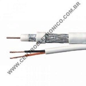 CABO 75R RF4MM+2X26 BIP BRANCO 80%