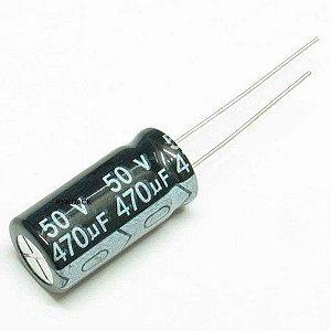 CAPACITOR ELETROL 470MFX50V 105G RD