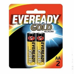 PILHA 1,5V AAX2 ALKALINA EVEREADY 2PCS