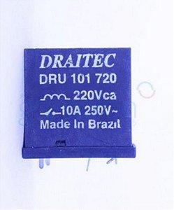 RELE 220VAC 10A 1CT/5T DRU101720/HAT903