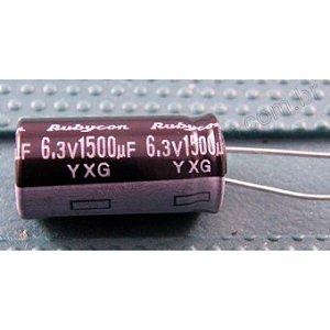 CAPACITOR ELETROL 1500MFX6,3V 105G 10X16