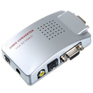 CONVERSOR(G)VIDEO VGA X RCA(PC/TV)FNB